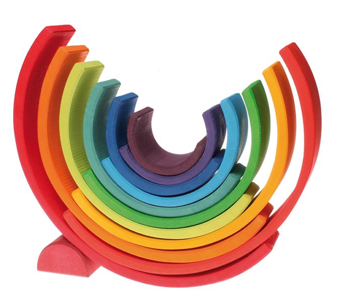 Grimm's Rainbow toy