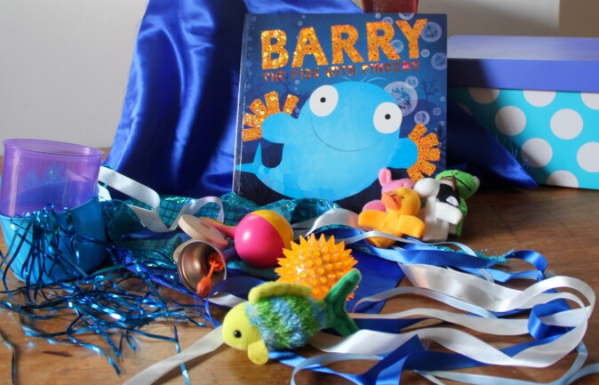 Barry the Fish with Fingers children's book