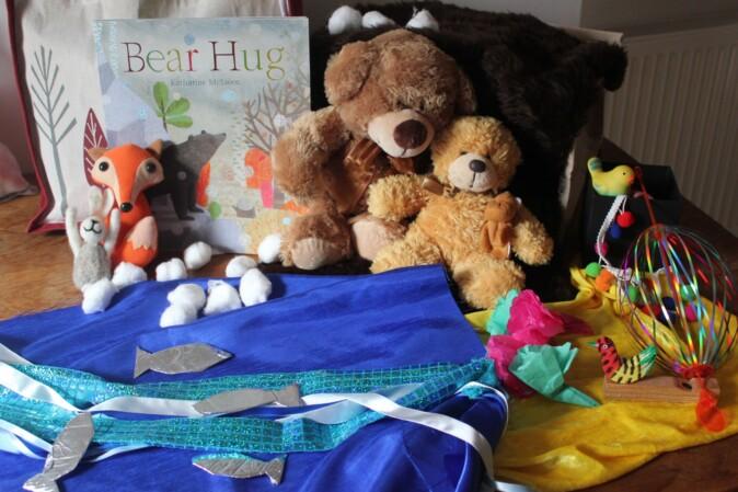 Bear Hug children's book