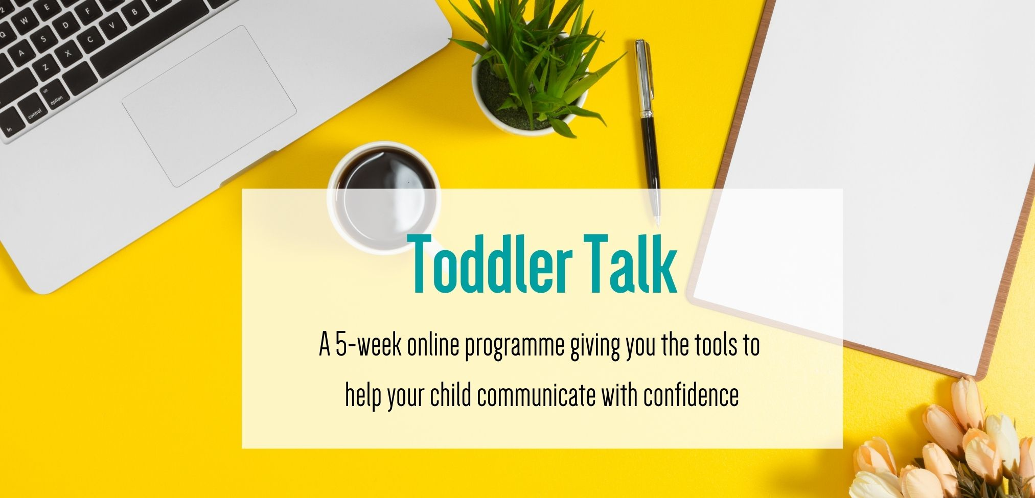 Toddler Talk - A 5 week online programme giving you the tools to help your child communicate with confidence